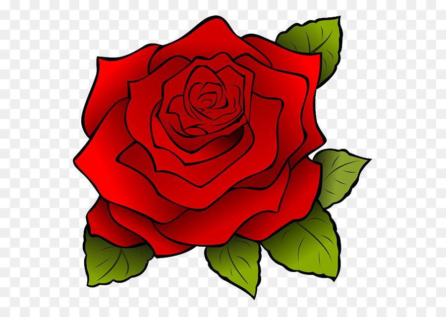 Drawing Clip Art Vector Graphics Cartoon Rose Rose Png Download