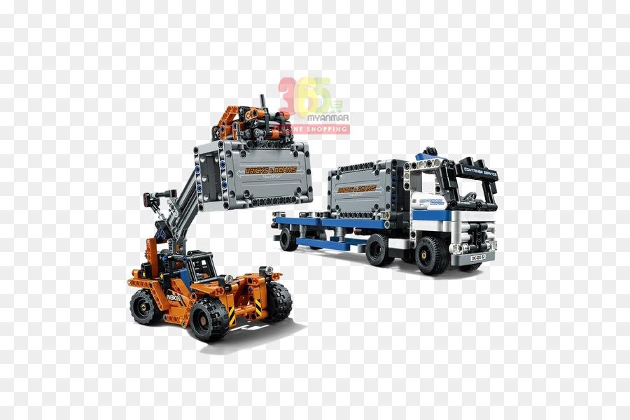 Amazoncom Lego Technic Toy Lego 42062 Technic Container Yard Toy