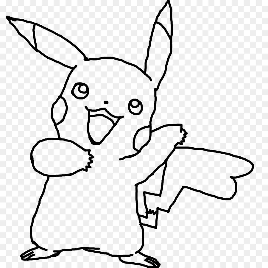 Pikachu de Ash Ketchum libro para Colorear, Dibujo de Pokémon ...