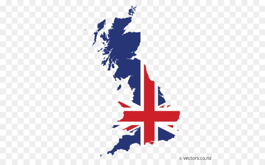 La bandera de Inglaterra de la Union Jack Mapa del Vector ...