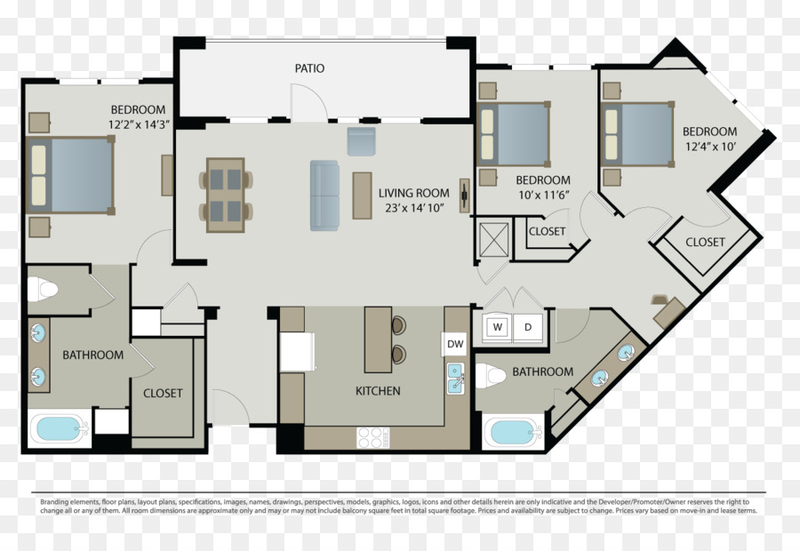 Floor Plan House Apartment Property Png