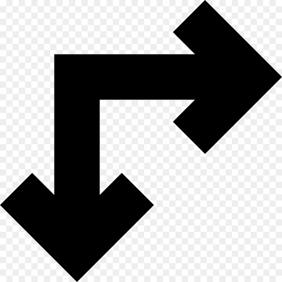 Right Angle Line Arrow Euclidean Vector Angle Png Download 980