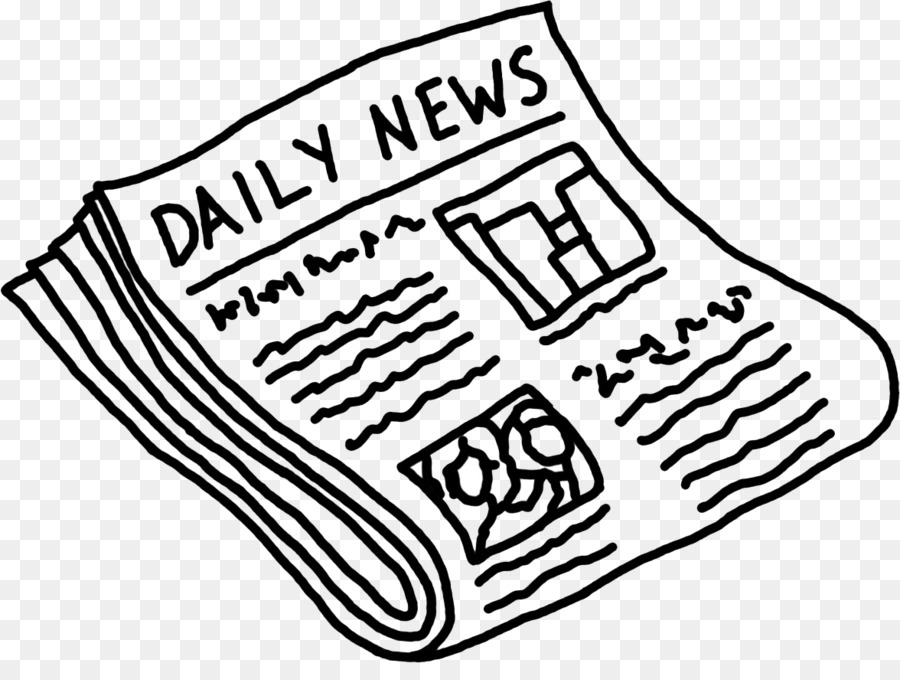 Clip Art Free Newspaper Openclipart Student Publication