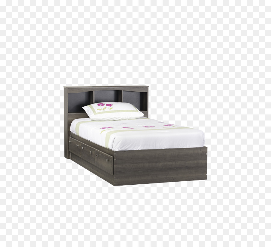 Bed frame Mattress Product design Bed Sheets - Twin Bed png download ...