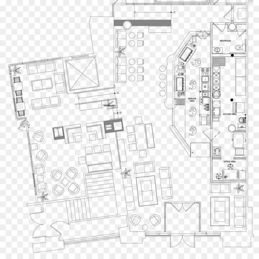 kitchen sketch png download - 2100*2074 - free transparent floor plan png  download