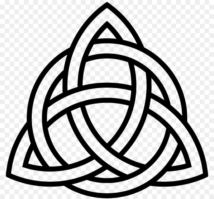 Celtic Knot Hope Symbol Triquetra Sign Symbol Png Download 1280