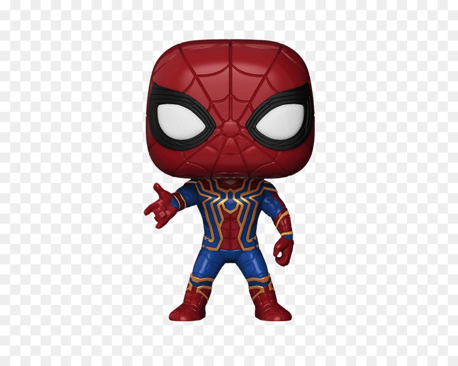 Spider-Man, Hulk, Iron Man Thanos De Hierro Araña - Spider Man png ...