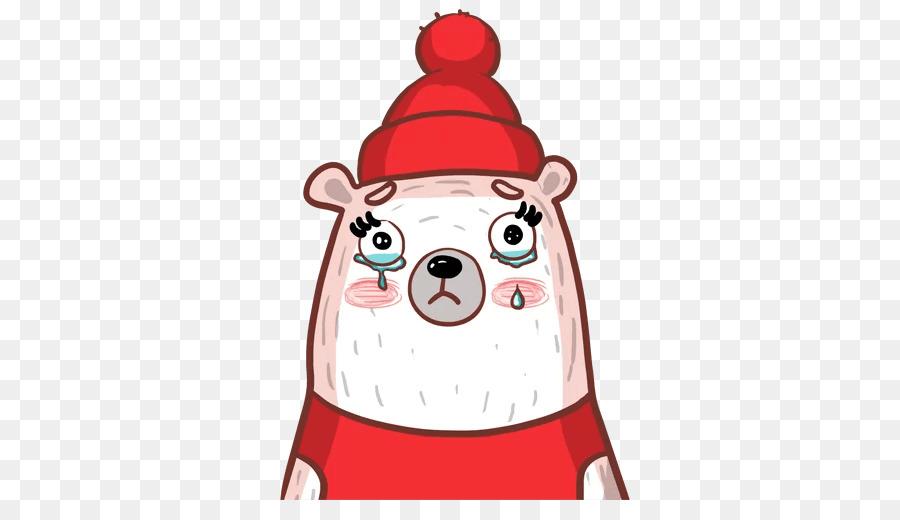 Babbo Natale Ornamento Di Natale Clip Art Illustrazione Cappello