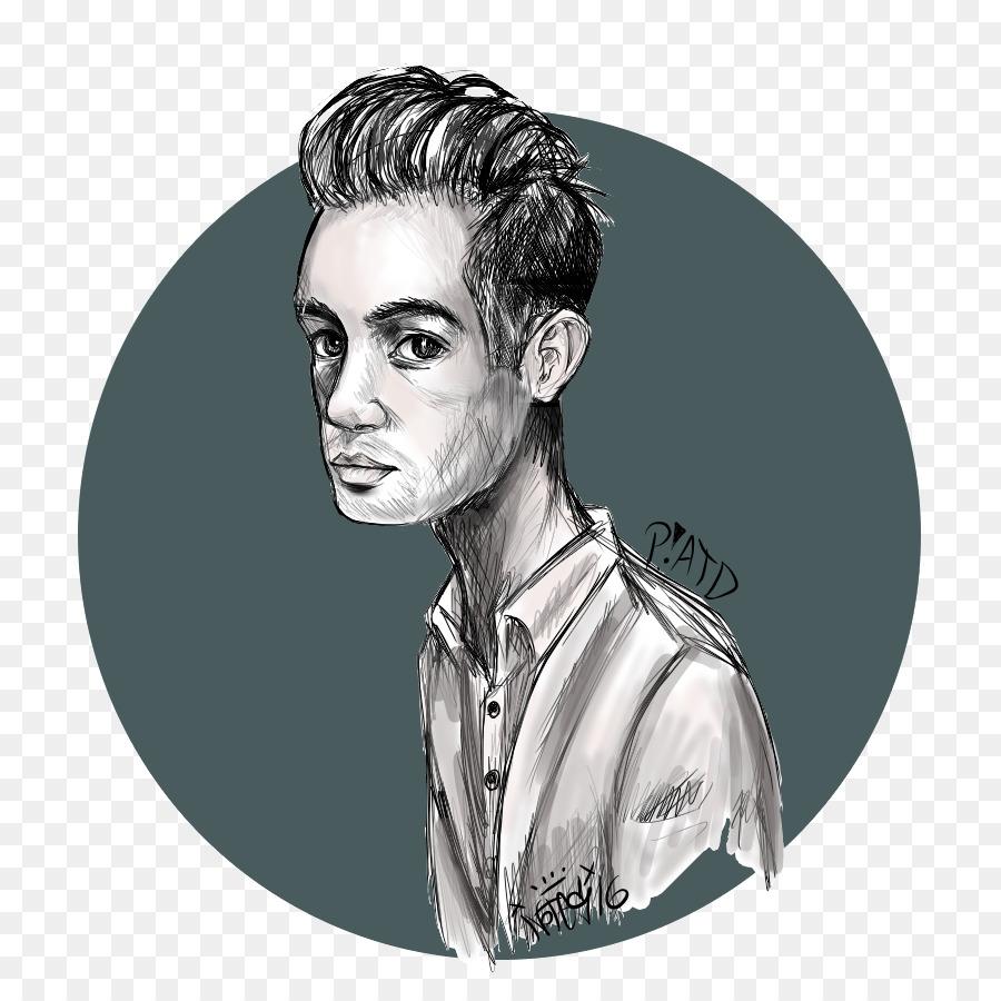 Brendon Urie Panic! at the Disco Fan art Drawing - fan