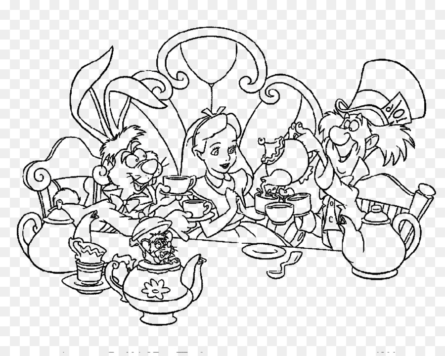 Alice in Wonderland Coloring Book Alice \' s Adventures in ...