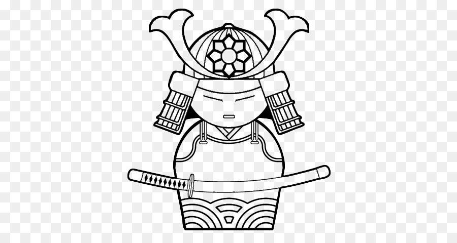 China Dibujo de Samurai de Japón para Colorear libro - chino ...