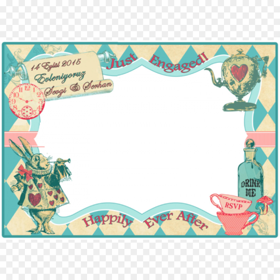 Engagement Party Alice In Wonderland Birthday Party Supply Alice