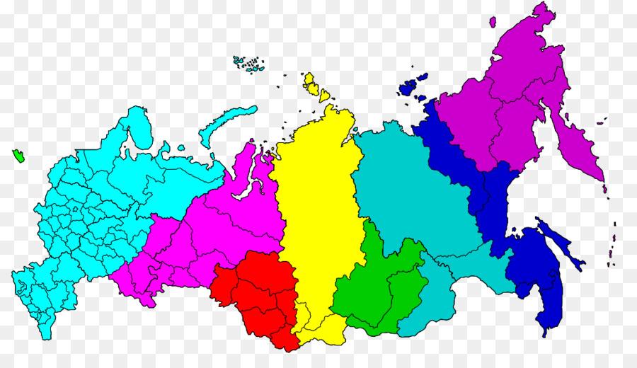 East Siberian Economic Region Europe World Map Vector Graphics Map