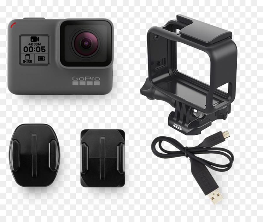 GoPro HERO5 Black 4K resolution Action camera - GoPro png download ...
