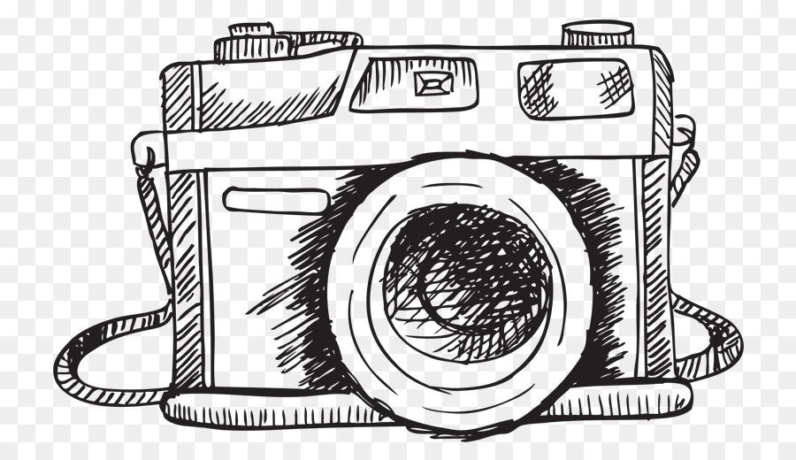Vector Graphics Drawing Sketch Camera Camera Png Download 800