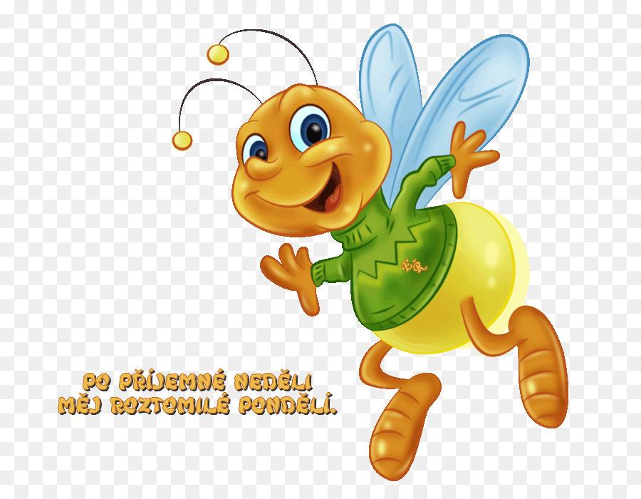 Honey Bee Clip Art Bild Zeichnen Biene Png Herunterladen 800700