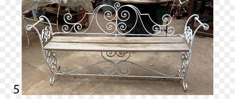 Schmiedeeisen Eisen Bank Garten Tisch Eisen Png Herunterladen