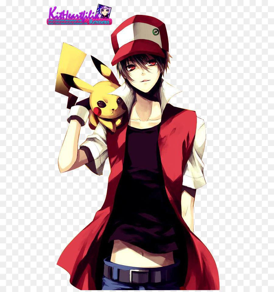 Pokmon Red And Blue Ash Ketchum Pikachu Fan Art Pikachu Png