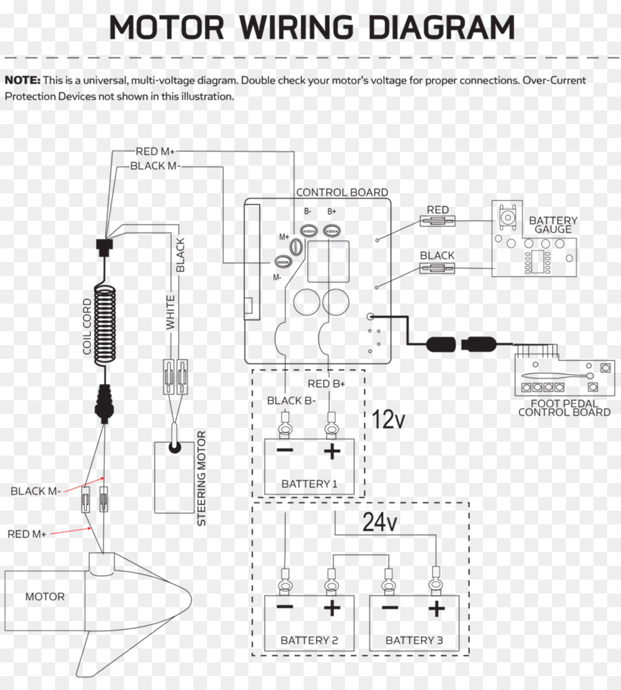 wiring diagram trolling motor circuit diagram schematic harley rh kisspng com 120V Electrical Switch Wiring Diagrams House Electrical Wiring Diagrams