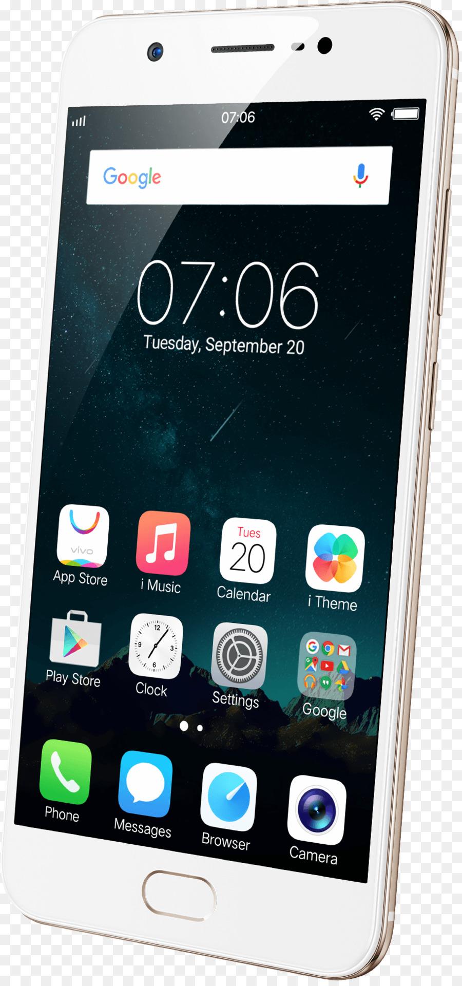 Vivo Y69 Mobile Phone png download - 913*1941 - Free Transparent