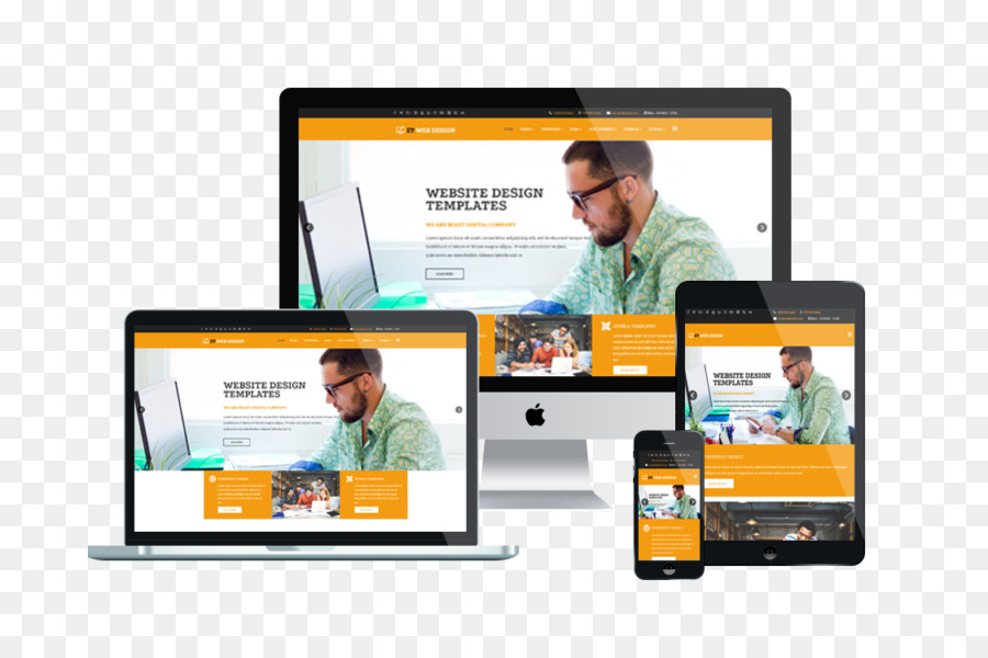 responsive web design website development web template system