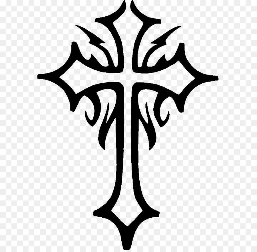 Tatouage Stencil Art Chretien De La Croix De La Croix Celtique
