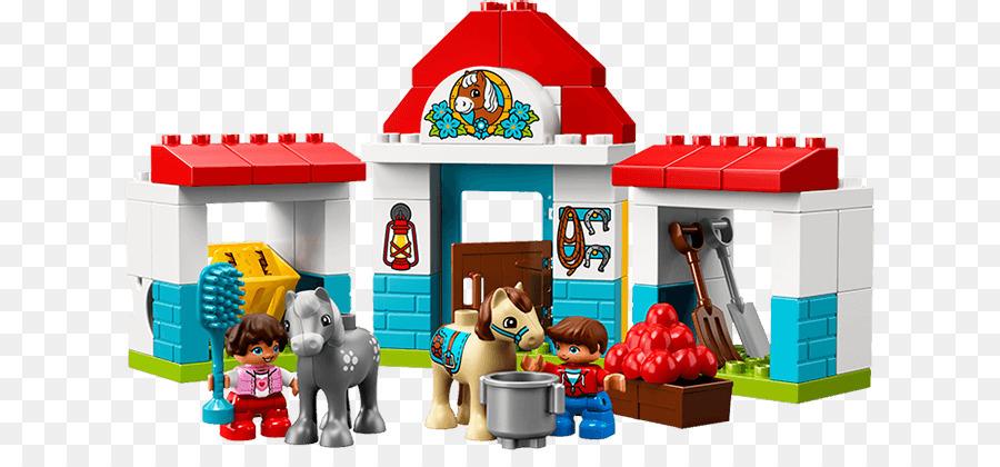 Lego Town Farm Pony Stable 10868 Amazoncom Lego My First My First