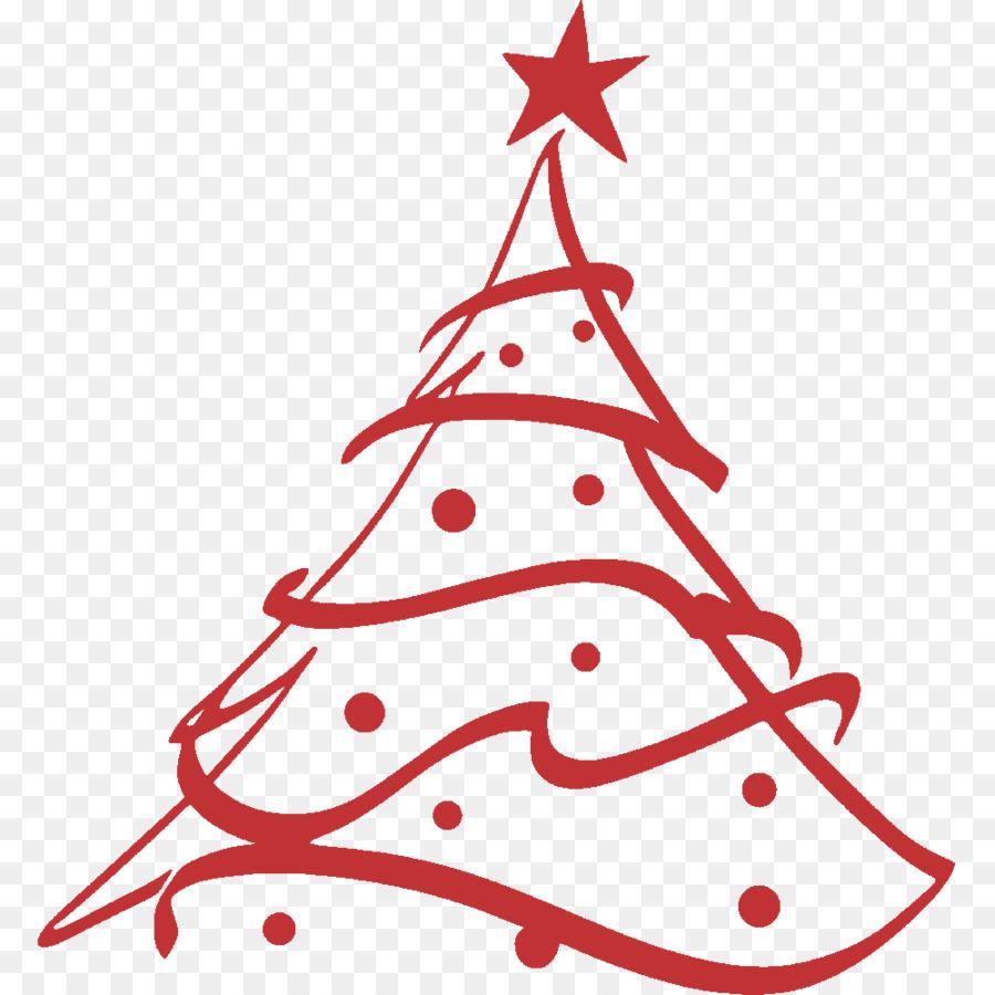Albero Di Natale Giorno Di Natale Abete Disegno Clip Art