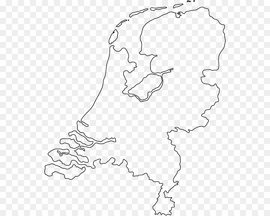 Netherlands Blank map World map Cartography - world map png download ...