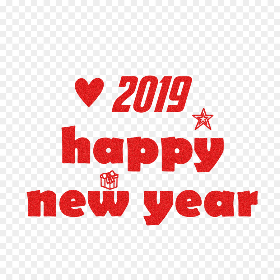 happy new year 2019 wishes png.png - others png download - 2000*2000 ...