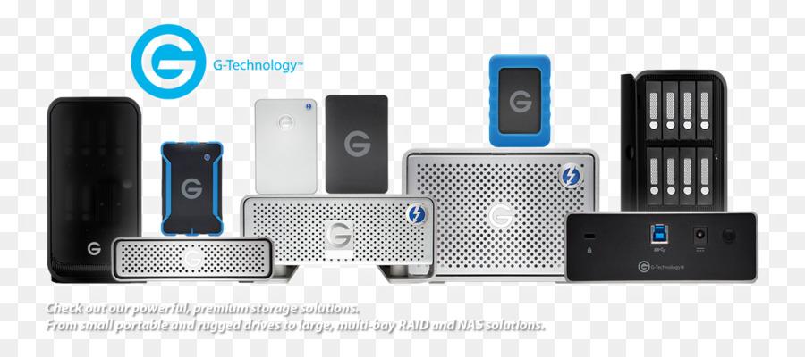 878d6c74632 G-Technology External multi-drive Technology G-Raid Removable Silver Output  device Hard Drives External storage - Technology Banner png download -  1140 500 ...