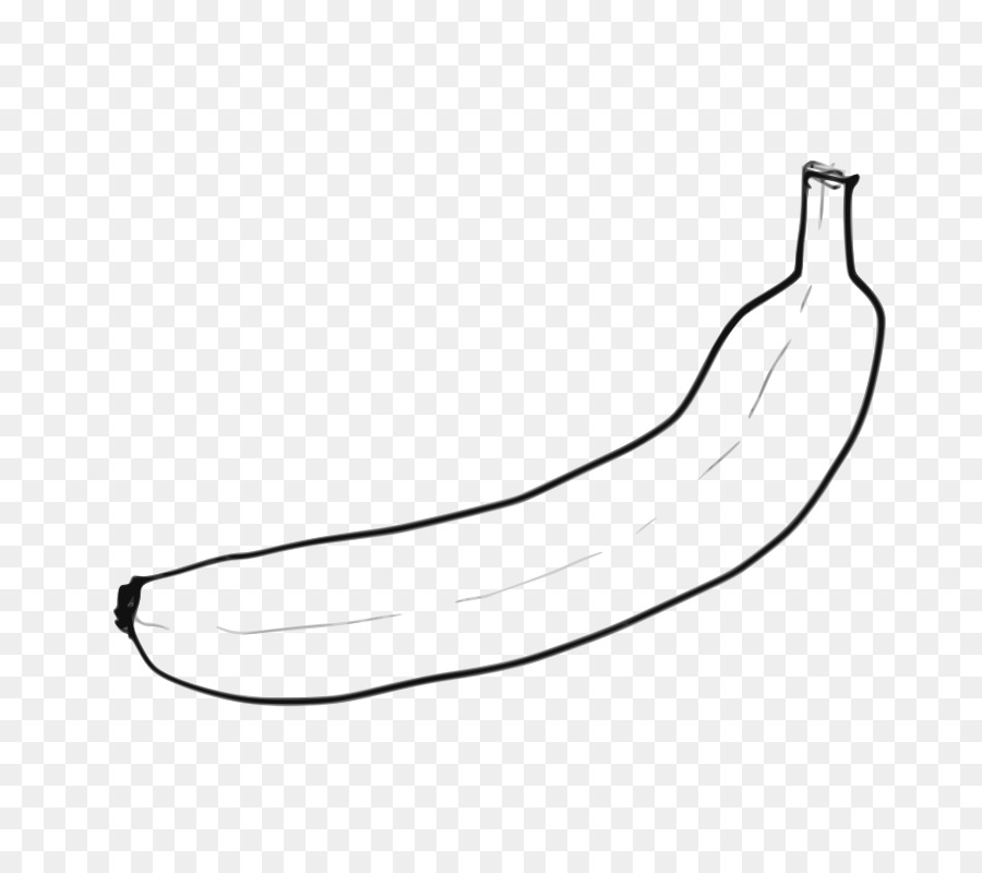 Clip de plátano arte libro para Colorear Openclipart arte de Línea ...