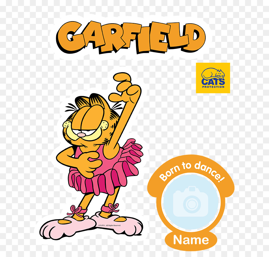Garfield comics television logo cartoon animation 1024*844.