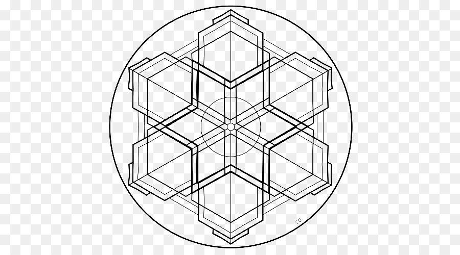 Mandala de la Geometría de la matriz de Simetría libro para Colorear ...