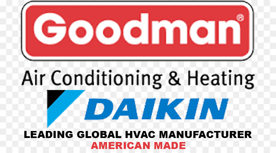 Vehicle License Plates Brand Logo Banner Goodman Manufacturing