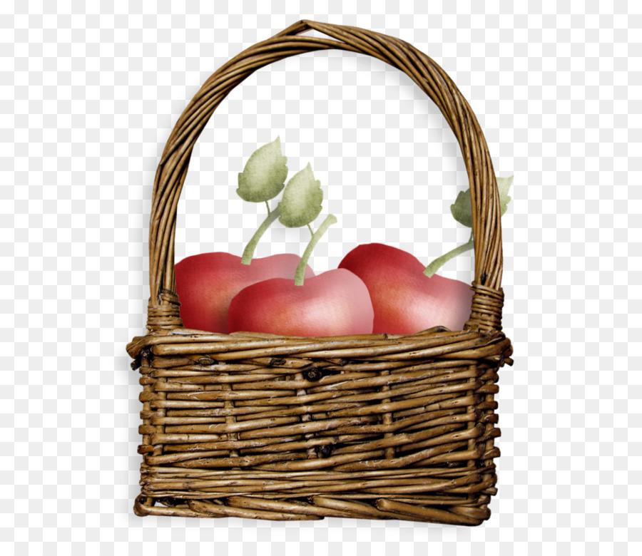 Food Gift Baskets Fruit Basket Of Apples Png Download
