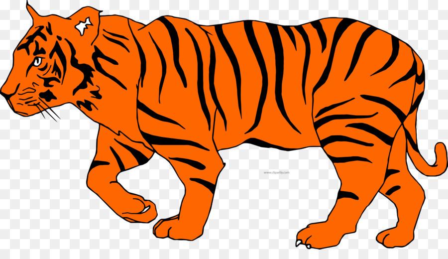 bengal tiger clip art openclipart cat geography clipart cat png rh kisspng com bengal tiger head clipart royal bengal tiger clipart