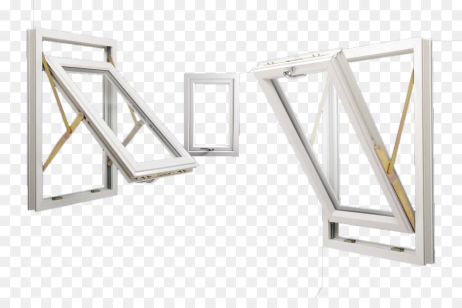 Ventana giratoria acristalamiento Aislante marco de la ventana ...