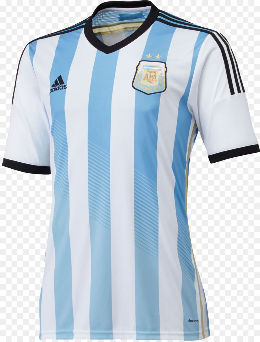 cd0a613ab21 Argentina national football team T-shirt 2014 FIFA World Cup usa ...