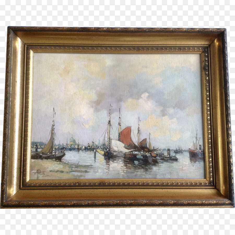 Still life Picture Frames Oil painting Canvas - painting png ...