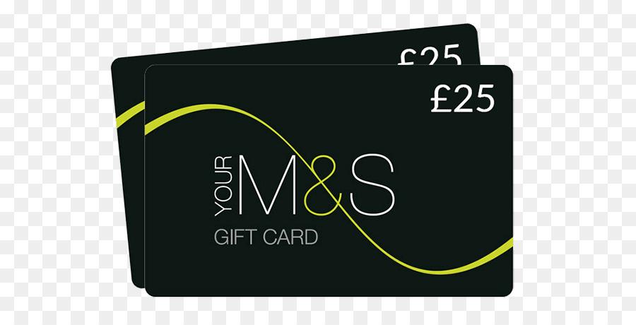 Gift Card, Marks Spencer, Gift, Logo, Brand PNG