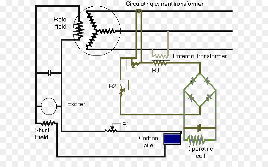 voltage regulator electric potential difference electrical wires rh kisspng com 4 Wire Voltage Regulator Schematic with Generator External Voltage Regulator Wiring Diagram