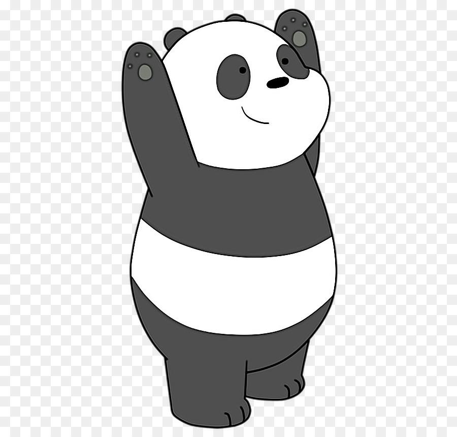 Giant Panda Polar Bear Red Panda Drawing Bear Png Download 500