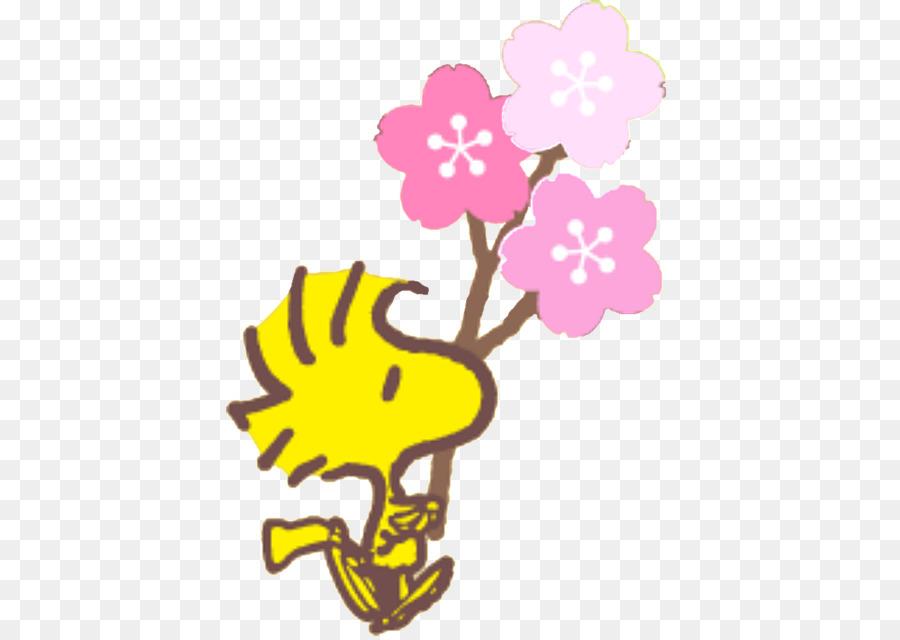 Woodstock Snoopy, Linus van Pelt Charlie Brown diseño Floral ...