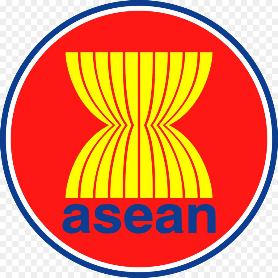 La bandera de la Asociación de Naciones del Sudeste Asiático ...