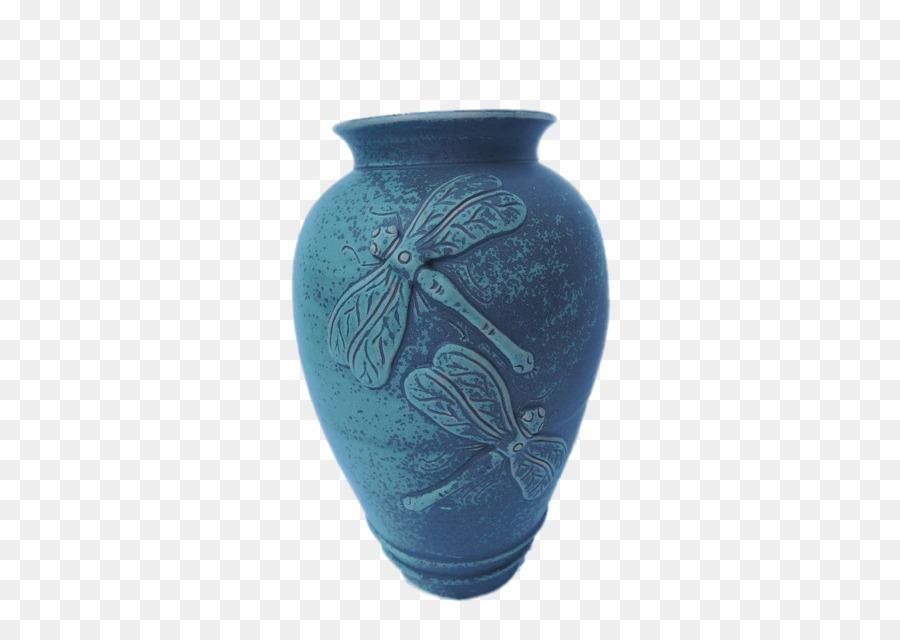 Vase Ceramic Pottery Urn Turquoise Variation Elephant Png Download