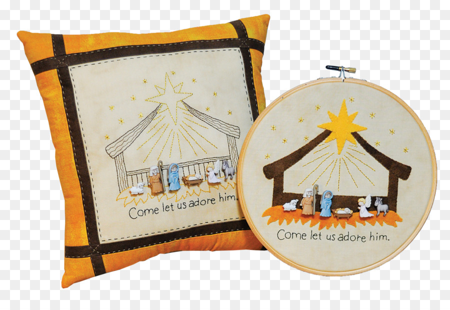 Product Embroidery Pattern Material Christmas Day Oh Come Let Us