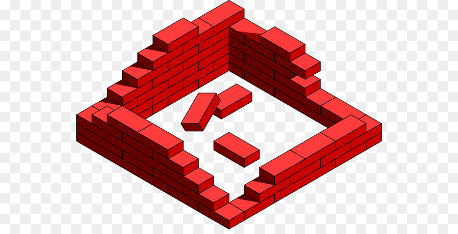 Clip Art Brickwork Building House