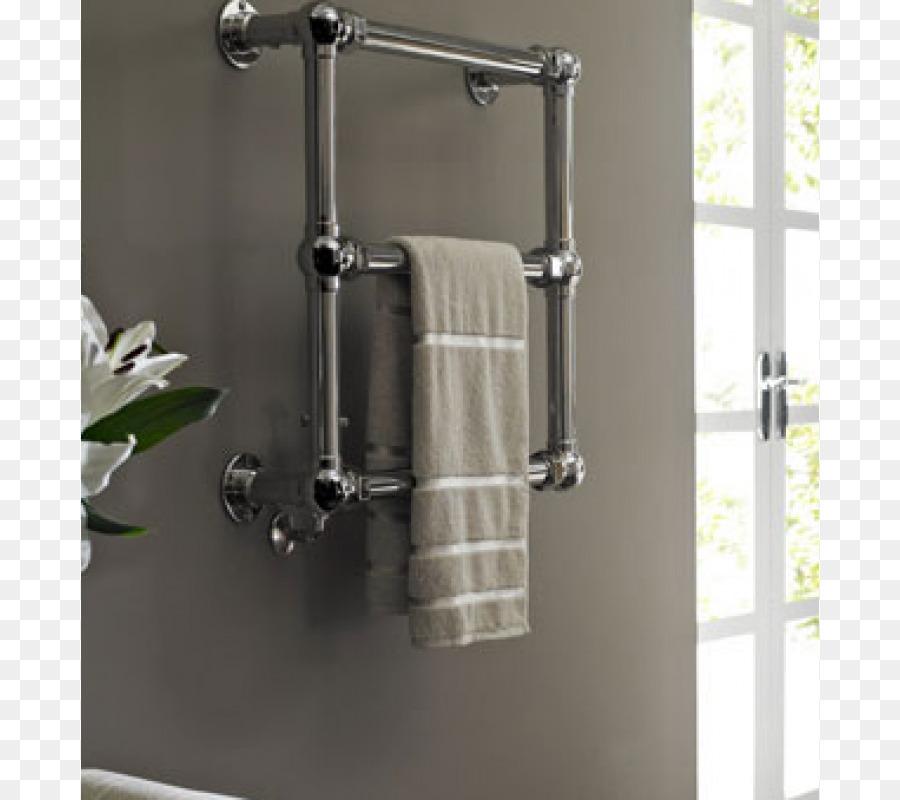 Beheizte Handtuchhalter Tippen Sie auf die Badezimmer-Heizung ...