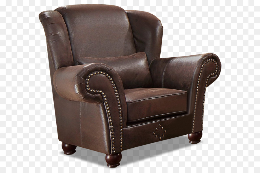 Club Chair Armrest Wing Chair Leather Comfort   King Sofa